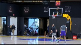 VIDEO: Lakers Gelar Latihan Perdana Usai Kepergian Kobe