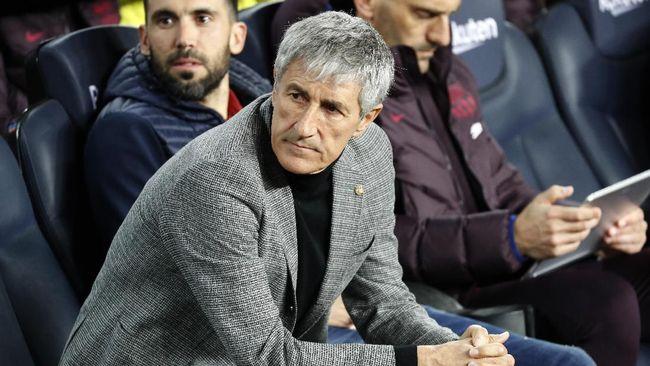 Pelatih Barcelona Quique Setien mengklaim seharusnya skuat arahannya menang telak dengan skor 8-2 atas Levante di Liga Spanyol.