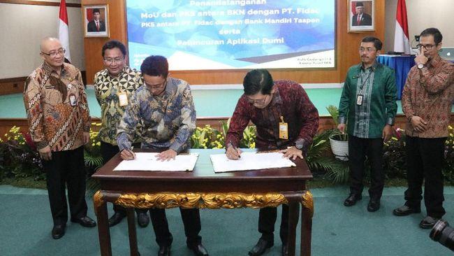 Bank Mandiri Taspen (Bank Mantap) bekerja sama dengan Fidac membuat produk soft loan berbasis KTA guna mengoptimalisasi pembiayaan ASN aktif.