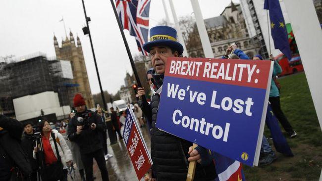 Jalan Panjang Inggris 'Angkat Kaki' dari Uni Eropa