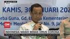 VIDEO: Indonesia Masih Bebas Virus Corona