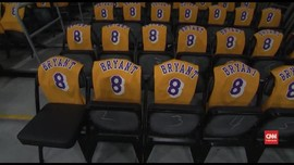VIDEO: Penghormatan untuk Kobe di Laga Lakers vs Blazers
