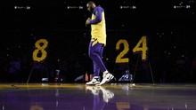 Lakers Tak Buat Upacara Khusus Peringati Setahun Kobe Bryant