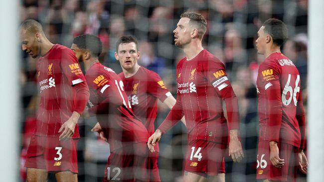 Liverpool kini unggul 22 poin dari penghuni peringkat kedua klasemen sementara Liga Inggris yang ditempati Manchester City.
