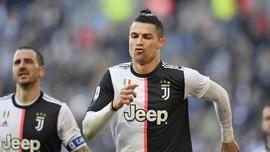 Hasil Liga Italia: Juventus Hajar Fiorentina, Ronaldo 2 Gol