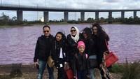 Pernikahan Faisal Harris dan Sarita Abdul Mukti diwarnai dengan kehadiran 4 orang putri, Shania Salsabila, Shakilla Astari, Shafa Harris dan Shabina Mecca.(Foto: Instagram @shafaharris)