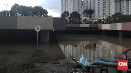 Jakarta Banjir, Underpass Senen dan Kemayoran Terendam