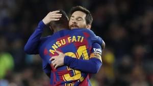 Ansu Fati Lebih Hebat dari Messi di Barcelona