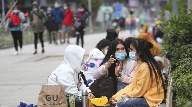 Para TKI di Hong Kong belum mengetahui kapan mereka bisa mengikuti program vaksinasi virus corona.