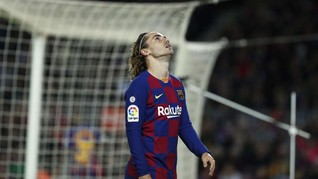 Griezmann, Musuh Messi di Dalam dan Luar Lapangan
