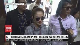 VIDEO: Siti Badriah Jalani Pemeriksaan Kasus Memiles
