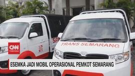 VIDEO: Esemka Jadi Mobil Operasional Pemkot Semarang