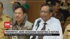 VIDEO: Pemerintah Jamin Keamanan Karantina di Natuna