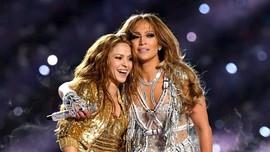 Usai Super Bowl, Pencarian Lagu Shakira dan JLo Naik Drastis