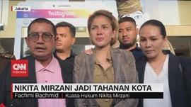 VIDEO: Bebas, Nikita Mirzani Jadi Tahanan Kota
