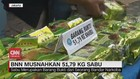 VIDEO: BNN Musnahkan 51,79 Kg Sabu