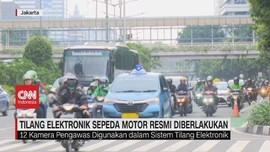 VIDEO: Tilang Elektronik Sepeda Motor Resmi Berlaku