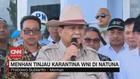 VIDEO: Menhan Prabowo Tinjau Observasi WNI di Natuna