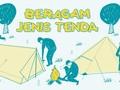 INFOGRAFIS: Beragam Jenis Tenda