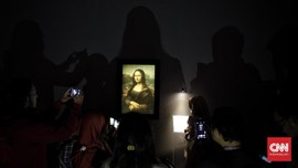FOTO: Keabadian da Vinci di Pameran Leonardo Opera Omnia