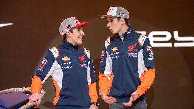 Juara dunia delapan kali Marc Marquez mengaku tak menyangka sang adik, Alex, bisa naik podium pada musim debutnya di MotoGP 2020.