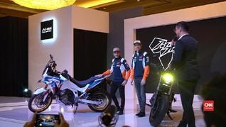 VIDEO: Duo Pebalap Honda Rilis Motor di Jakarta