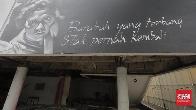 Gedung Graha Bhakti Budaya di kawasan Taman Ismail Marzuki mulai dibongkar untuk proyek revitalisasi kawasan kesenian tersebut.