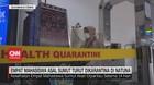 VIDEO: 4 Mahasiswa Asal Sumut Turut Dikarantina di Natuna