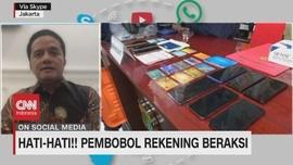 VIDEO: Hati-Hati, Pembobol Rekening Beraksi
