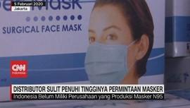 VIDEO: Distributor Sulit Penuhi Tingginya Permintaan Masker