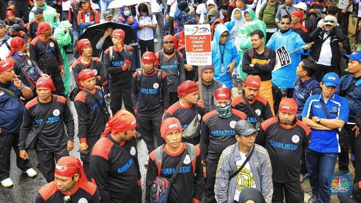 Buruh akan Demo Lagi di DPR, Tolak Omnibus Law 'Cilaka'