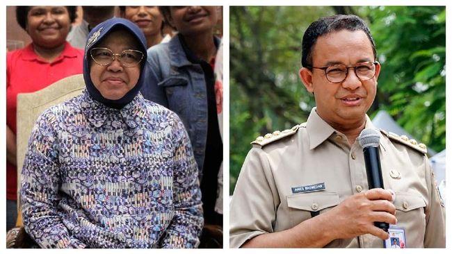 Sikap Anies Baswedan dan Tri Rismaharini dalam merespons kritik publik dinilai sebagai cerminan dari daya ukur ketahanan politik seorang pejabat.
