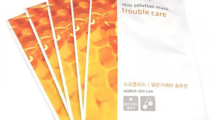 Review: Innisfree Skin Solution Mask Trouble Care