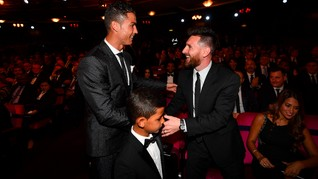 Duet Ronaldo dan Messi di Juventus akan Disukai Sponsor