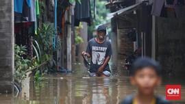 Banjir Rendam 11 RT di Cipinang Melayu Jaktim