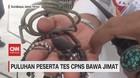 VIDEO: Puluhan Peserta CPNS Bawa Jimat Saat Jalani Tes