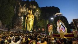 FOTO: Festival Penebusan Dosa di Thaipusam