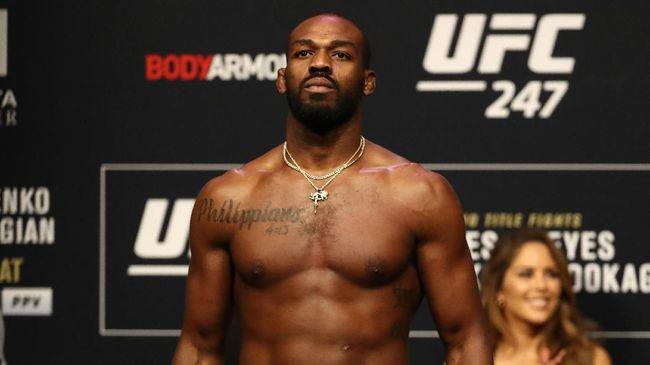 Jon Jones masih tercatat sebagai petarung pound for pound nomor satu UFC mengungguli juara kelas ringan, Khabib Nurmagomedov.