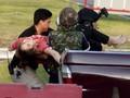FOTO : Horor Penembakan Massal di Thailand