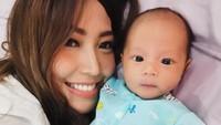 <div>Gimana, Bunda? Baby Aqli mirip banget sama mamanya ya? (Foto: Instagram @mrsayudewi)</div>