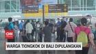 VIDEO: Warga Tiongkok di Bali Dipulangkan