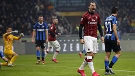 Mantra 'Ibrakadabra' Tak Cukup bagi Milan di Laga Derby