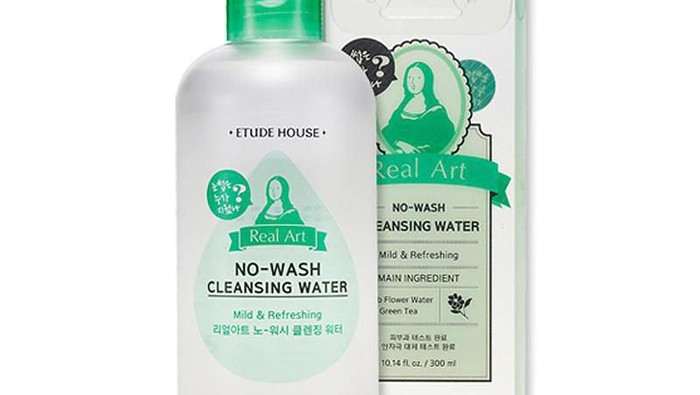 Review: Etude House Real Art No-Wash Cleansing Water