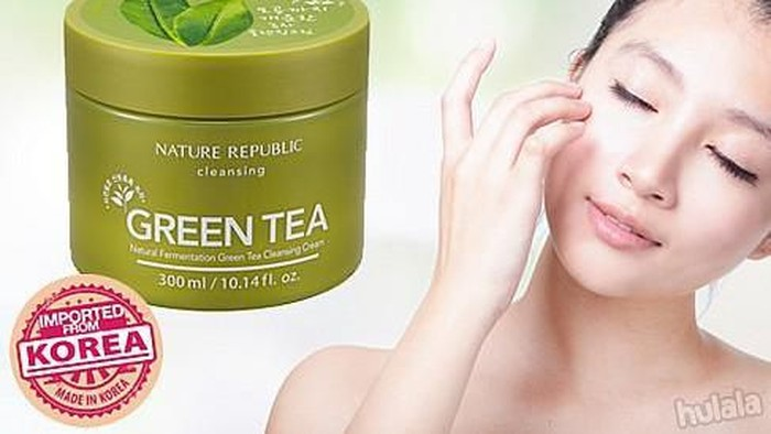 Review: Nature Republic Real Nature Green Tea Cleansing Cream