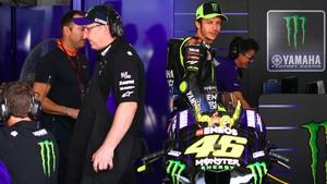 MotoGP Spanyol: Tanpa Motor, Rossi Pilih Malas-malasan