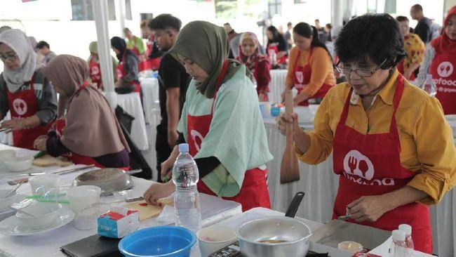 Kelas memasak bertujuan untuk mengembangkan keterampilan supaya para istri mitra driver GoCar dan GoRide bisa memiliki kesempatan untuk berwirausaha.