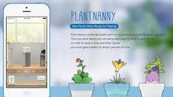 Plant Nanny, Aplikasi yang Bikin Hidup Lebih Sehat