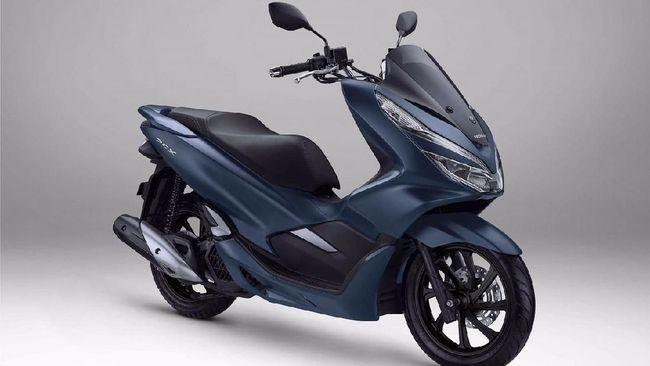 Honda PCX Royal Matte Blue