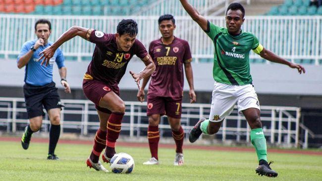 PSM Makassar menelan kekalahan 1-2 dari Tampines Rovers di laga pertama Grup H Piala AFC 2020 di Stadion Jalan Besar, Rabu (12/2).