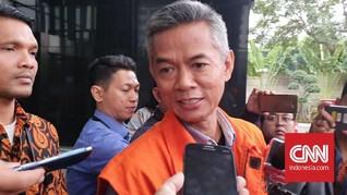 Eks Komisioner KPU Wahyu Setiawan Didakwa Terima Rp600 Juta